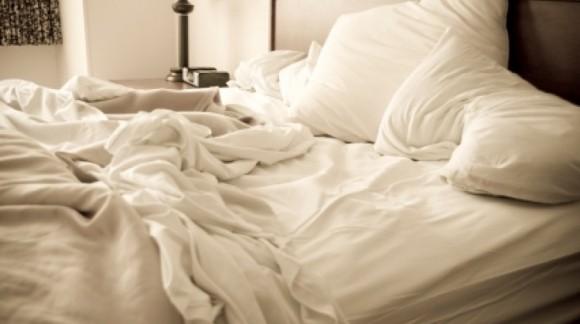 Hacer la cama no es bueno para la salud
