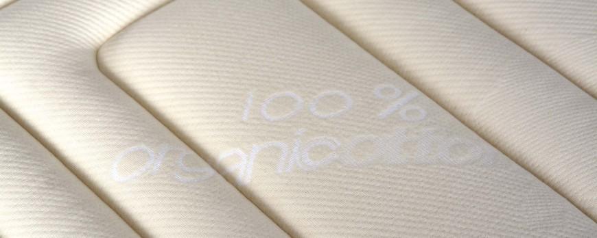 El algodón orgánico en el colchon Benefit