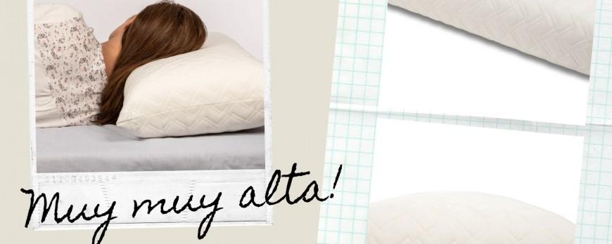 ¿Buscas una almohada viscoelástica muy alta? Almohada Top Visco de Seasons